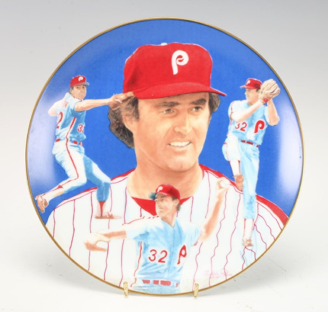 STEVE CARLTON PHILLIES PLATE
