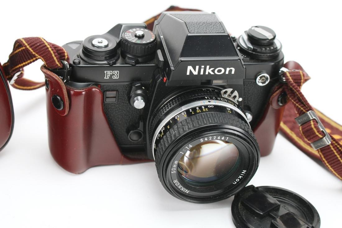 NIKON F3 CAMERA - 2