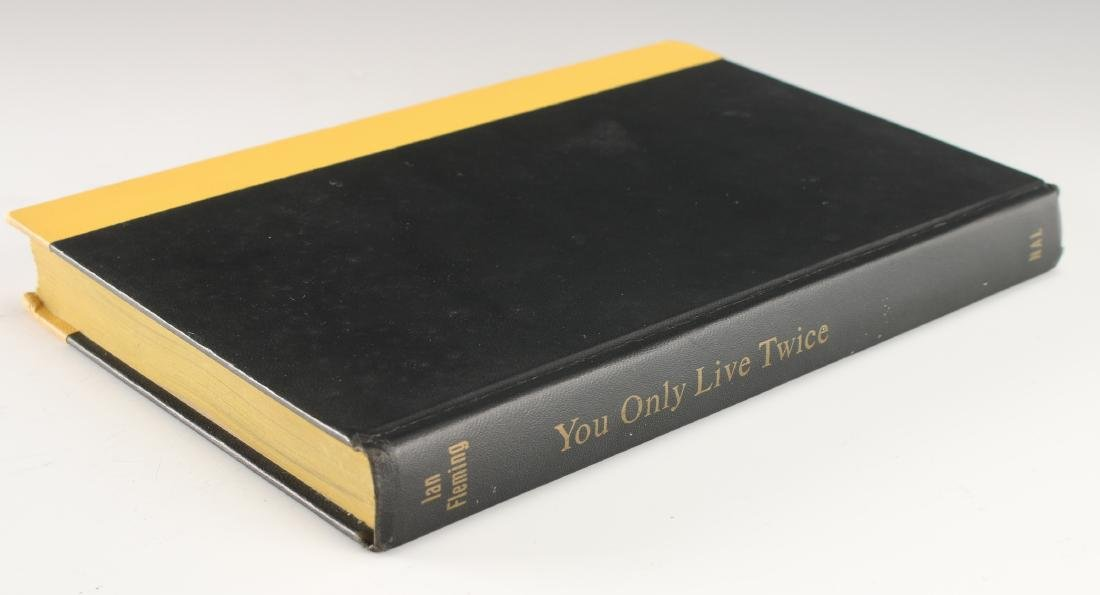 "IAN FLEMING ""YOU ONLY LIVE TWICE"" FIRST EDITION"
