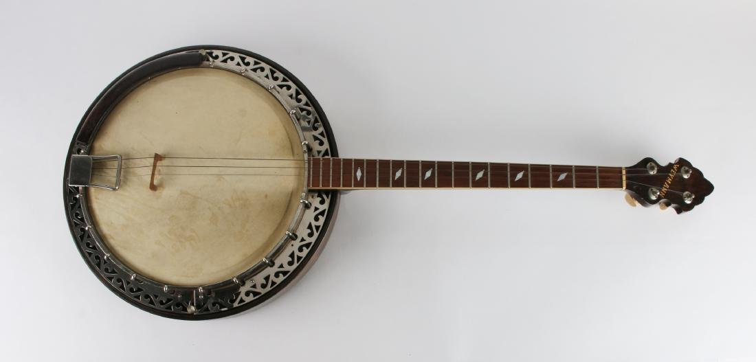 1931 TENOR WEYMANN FOUR STRING BANJO W RESONATOR