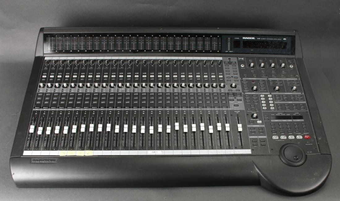 MACKIE D8B 56 INPUT 72 CHANNEL MIXING CONSOLE