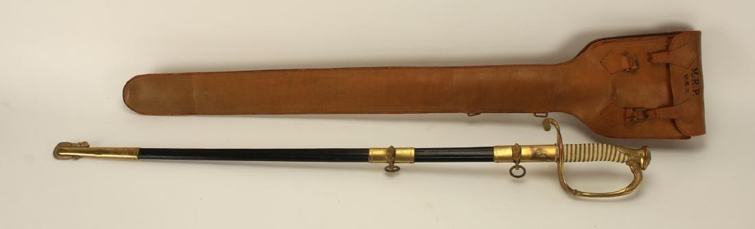 M.R.PESSOLANO WWII NAVY DRESS SWORD