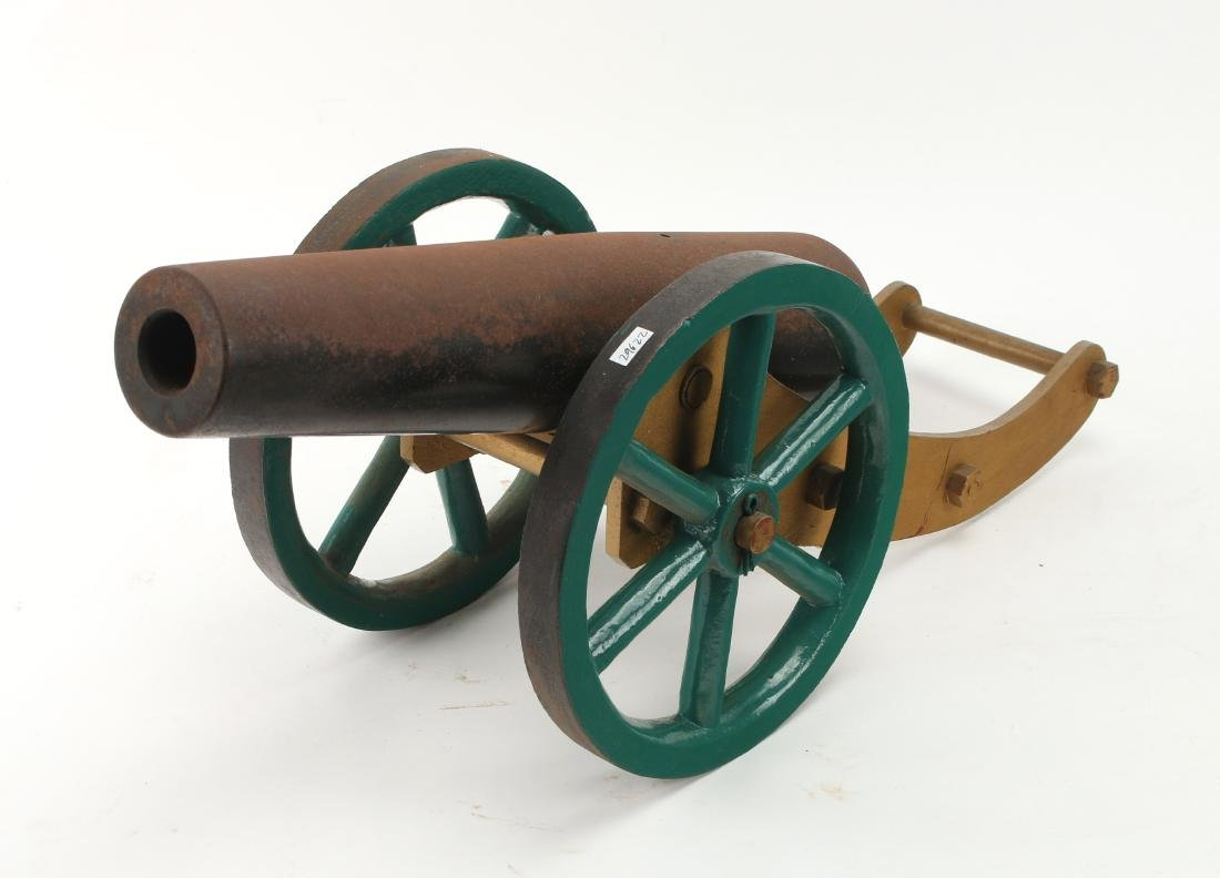 METAL DESK MODEL CANNON - 3
