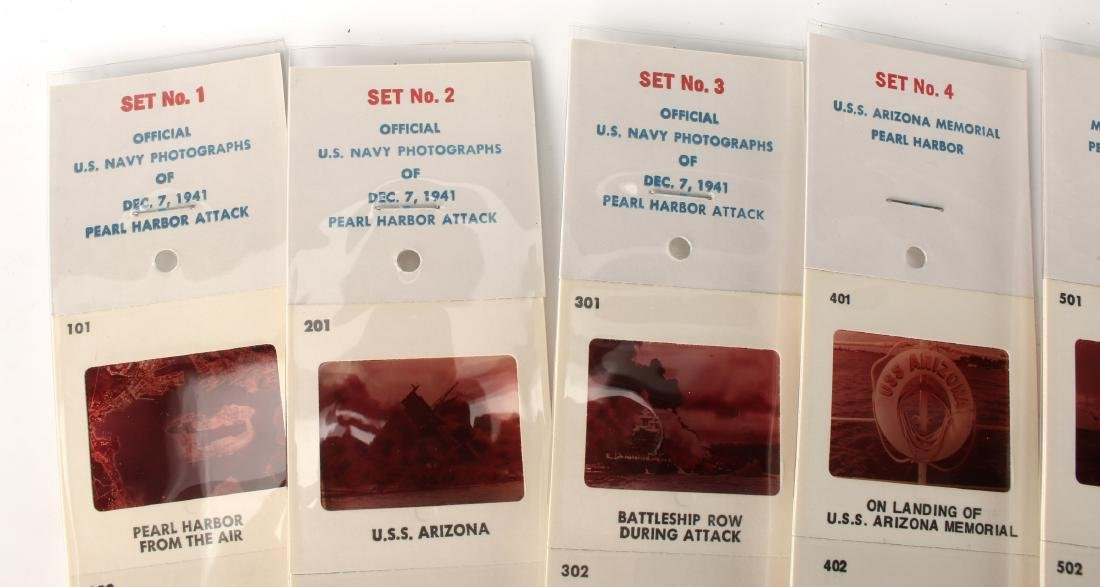 COLLECTION OF PEARL HARBOR SLIDES - 2