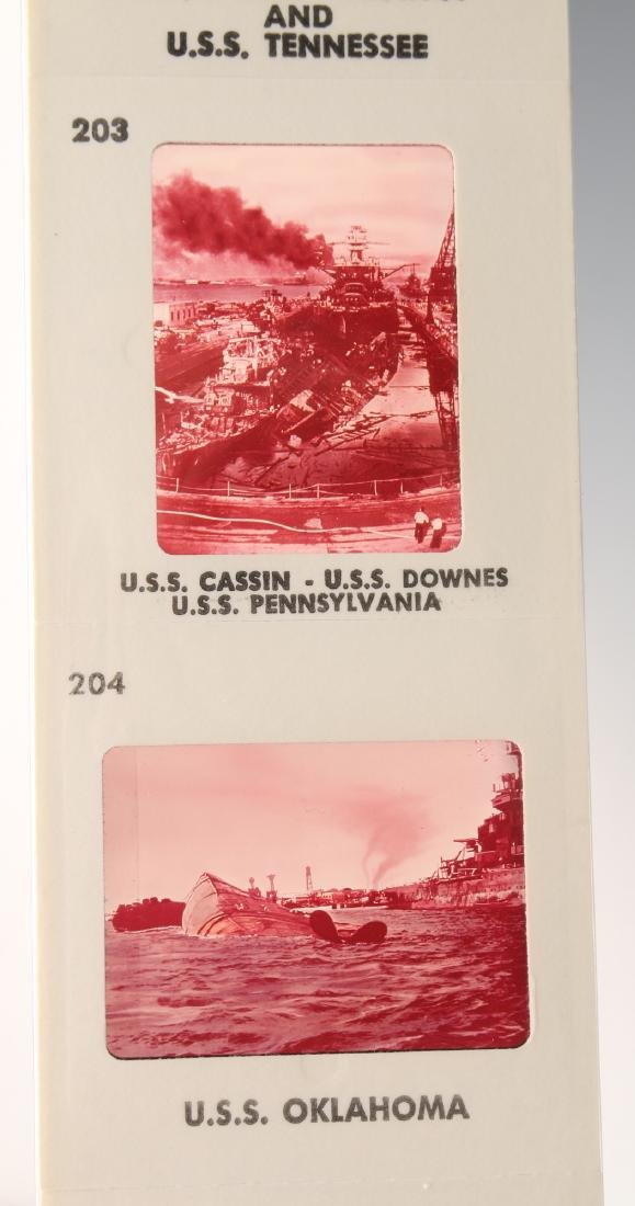 COLLECTION OF PEARL HARBOR SLIDES - 6