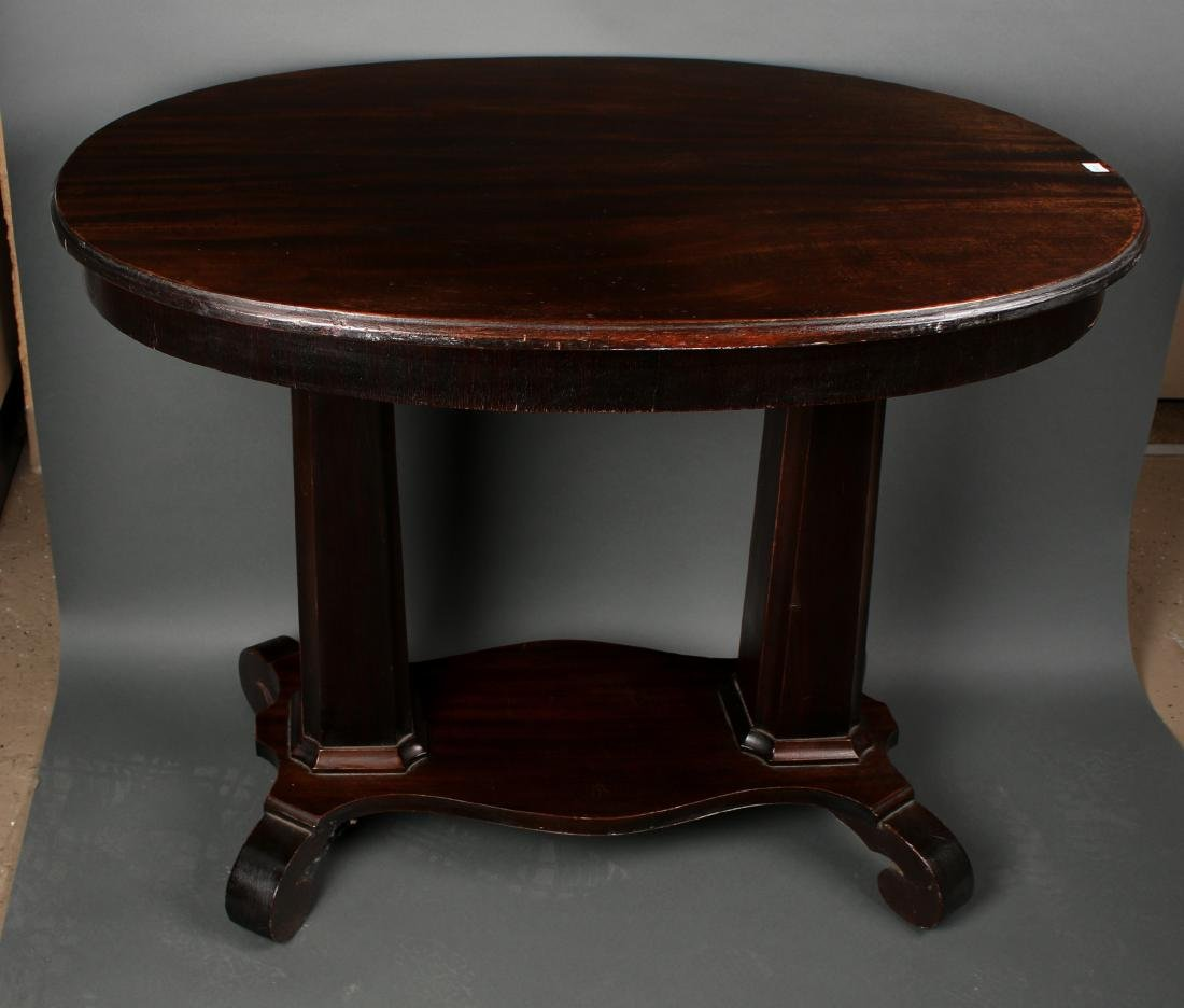 VICTORIAN EMPIRE TABLE WITH DRAWER - 2