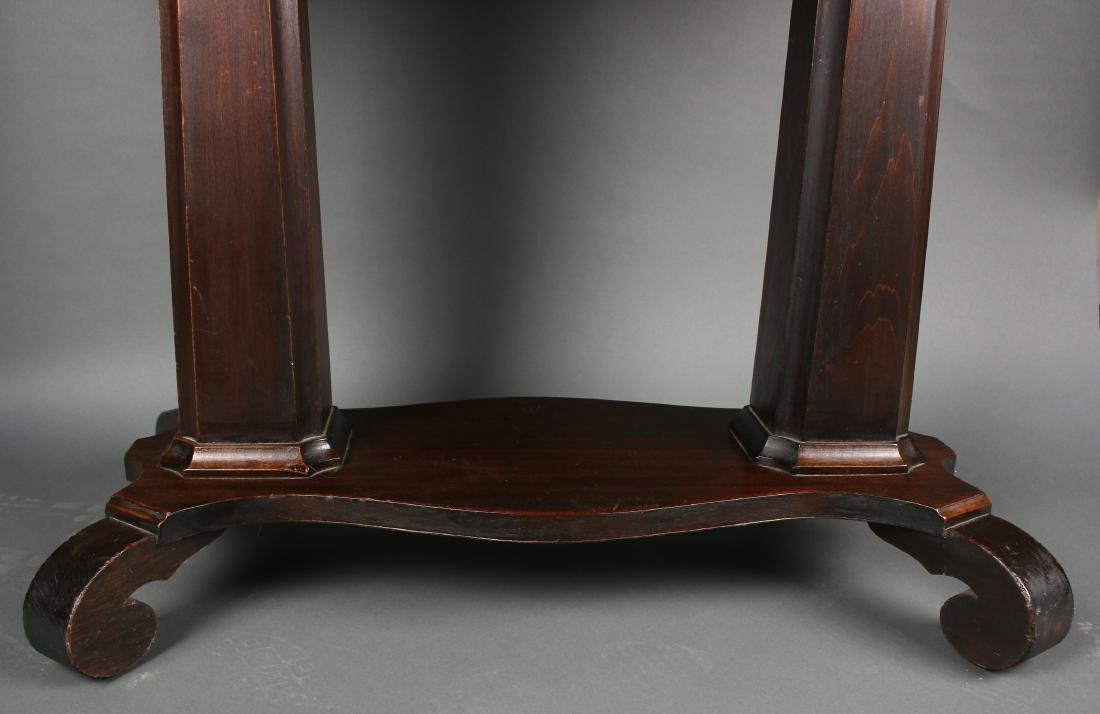 VICTORIAN EMPIRE TABLE WITH DRAWER - 4