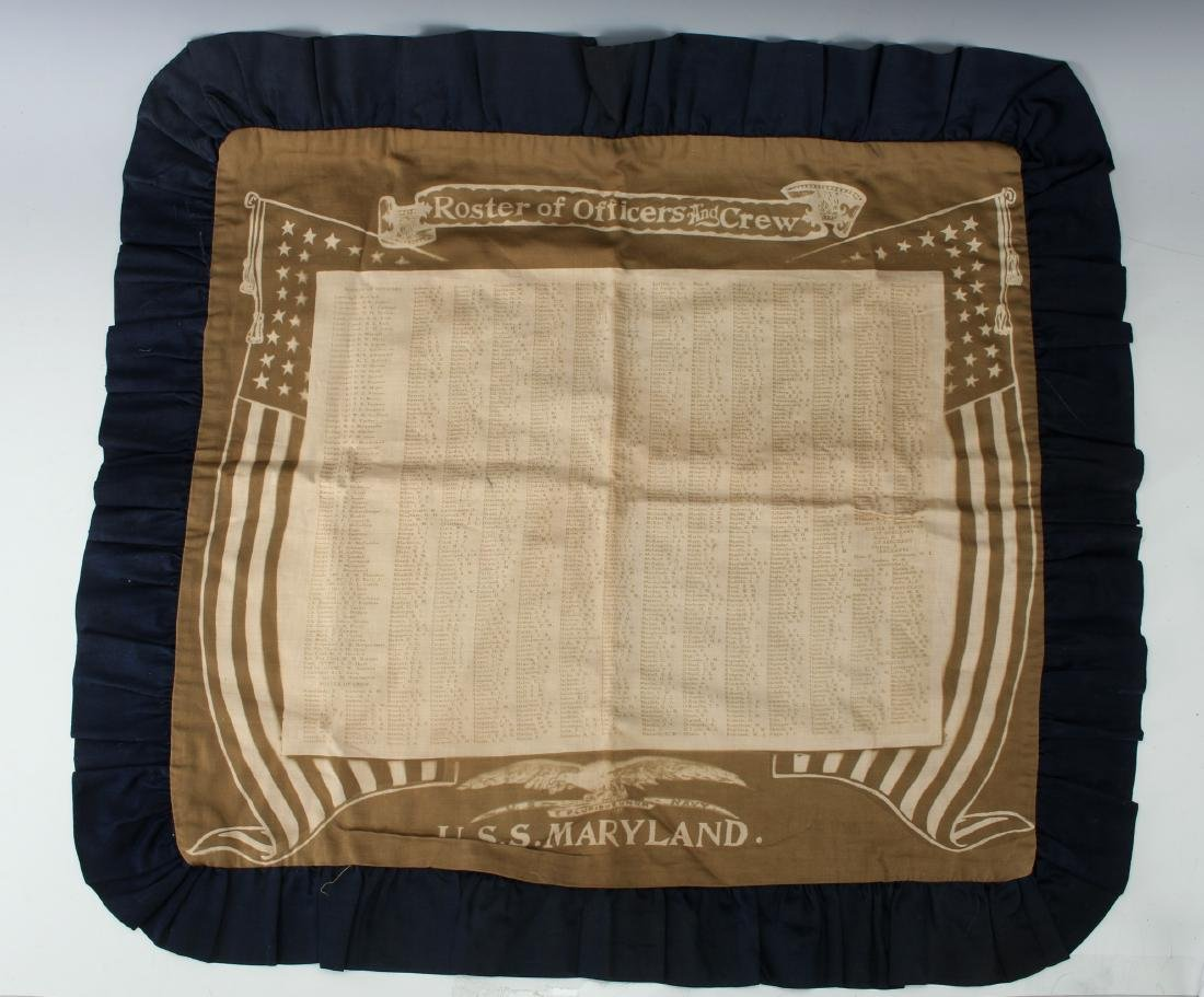 USS MARYLAND PILLOW COVER - 2