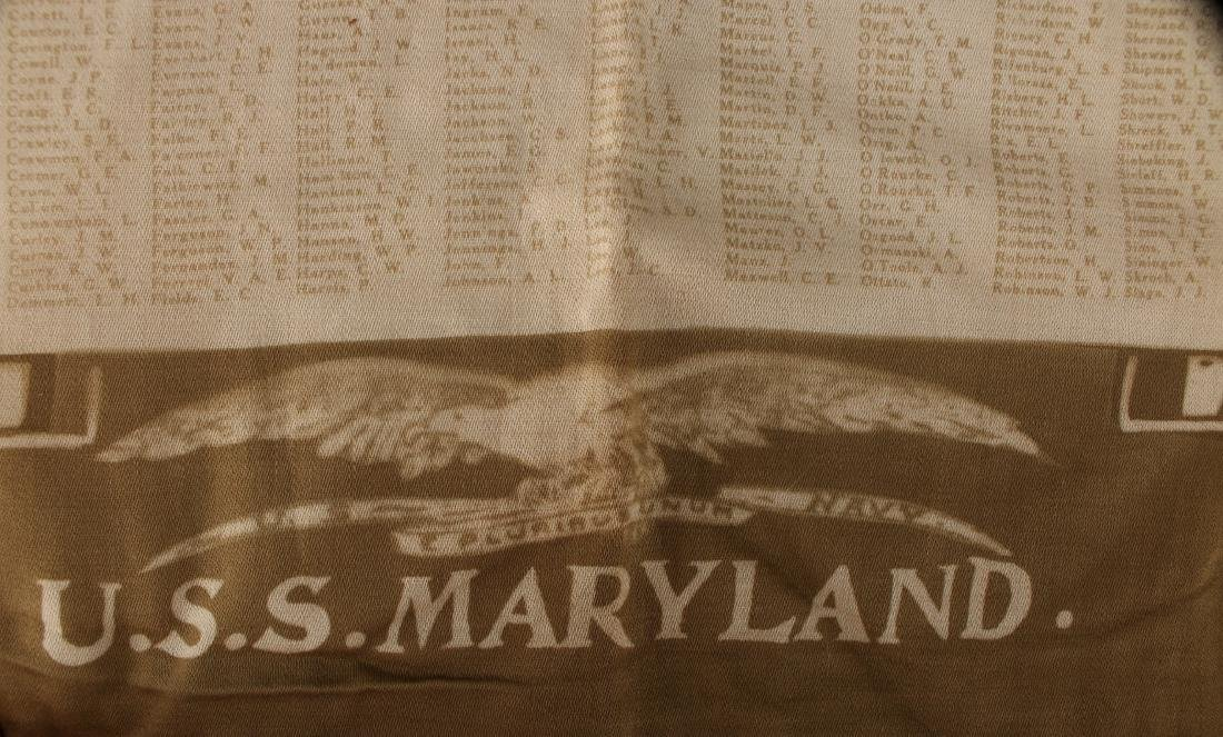 USS MARYLAND PILLOW COVER - 4