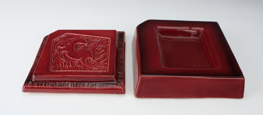 1940'S CERAMIC DEER CIGARETTE BOX - 3