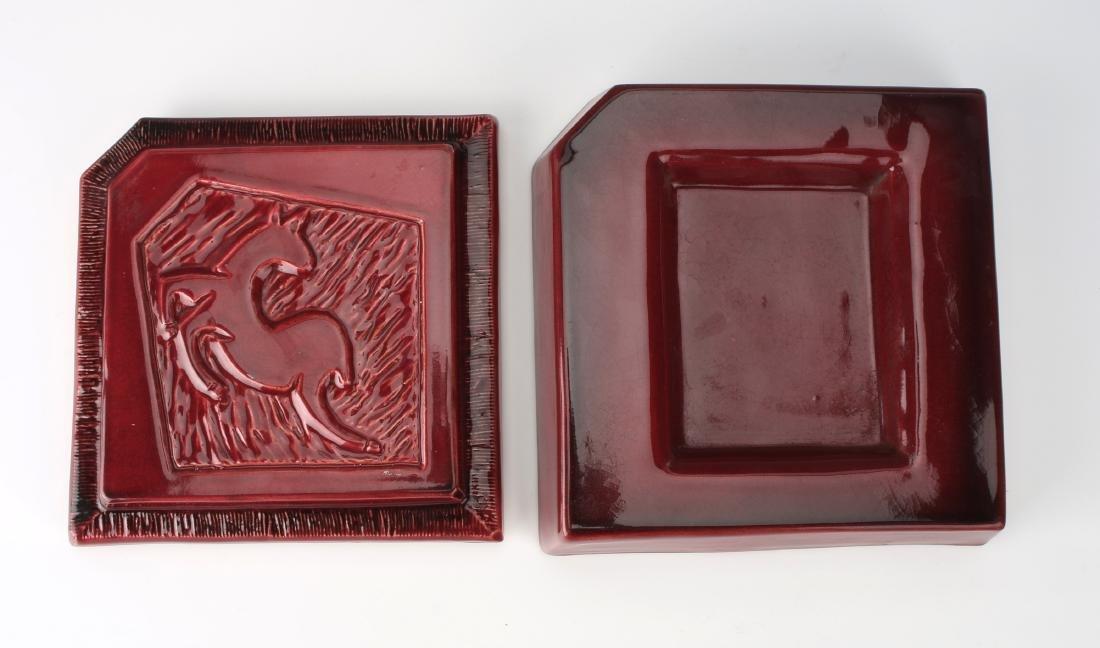1940'S CERAMIC DEER CIGARETTE BOX - 6
