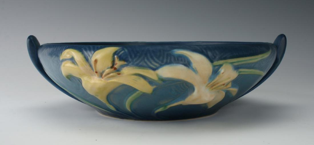 1946 ROSEVILLE ZEPHYR BURMUDA BLUE BOWL 474