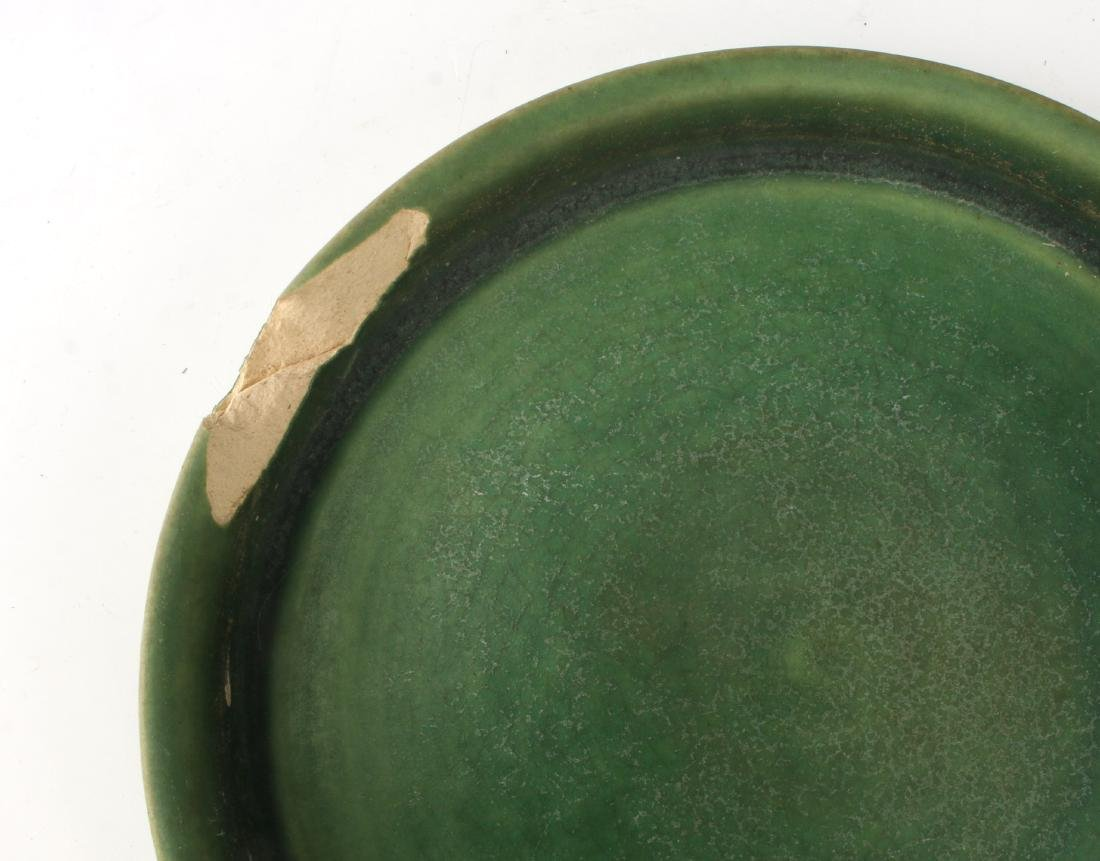 TWO PIECES OF ROSEVILLE STYLE CERAMICS - 5