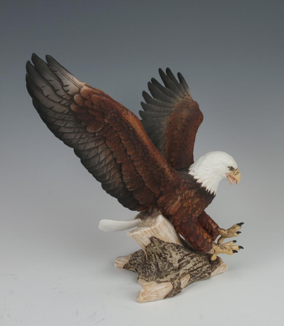 PORCELAIN EAGLE - AMERICAN EAGLE GALLERY