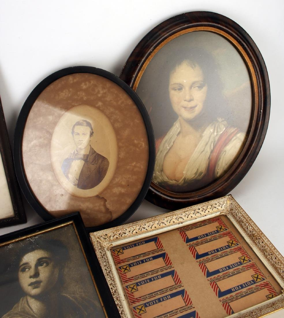 COLLECTION OF VINTAGE FRAMED ITEMS - 2