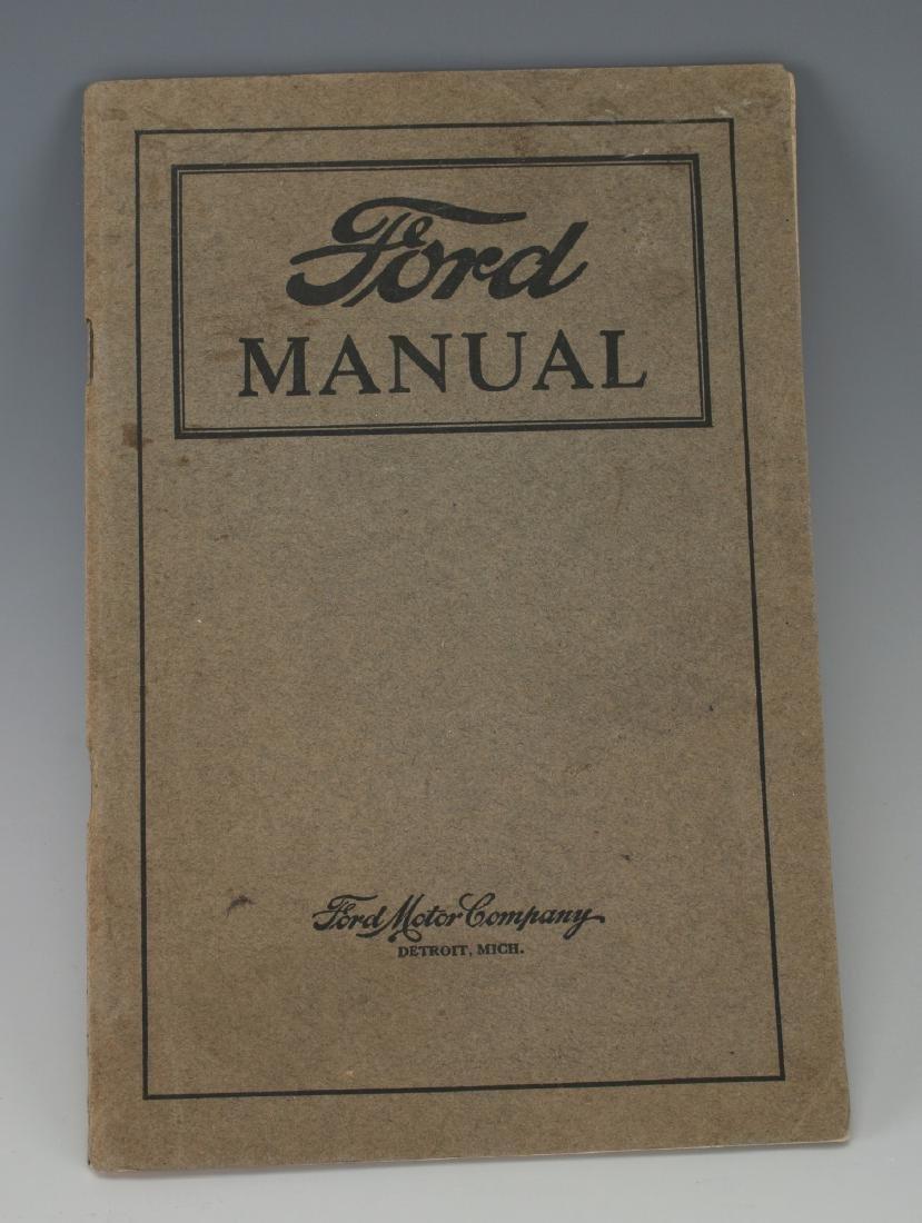 1919 VINTAGE FORD OWNER'S MANUAL