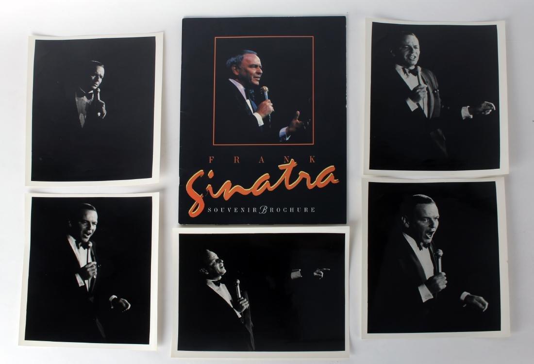 FRANK SINATRA SOUVENIR BROCHURE & CONCERT PHOTOS