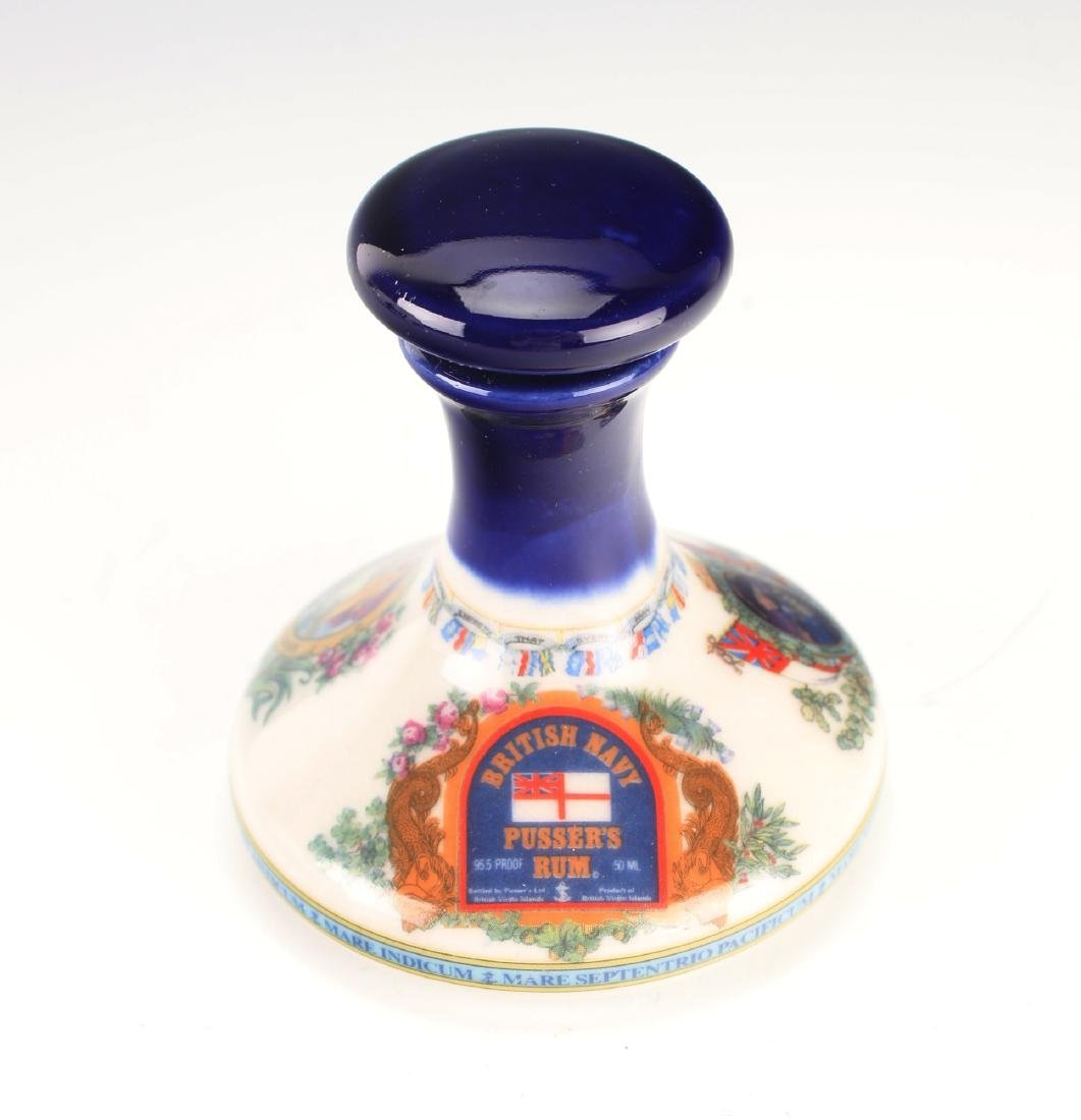 MINIATURE BRITISH PUSSER'S RUM SHIP DECANTER 50ML
