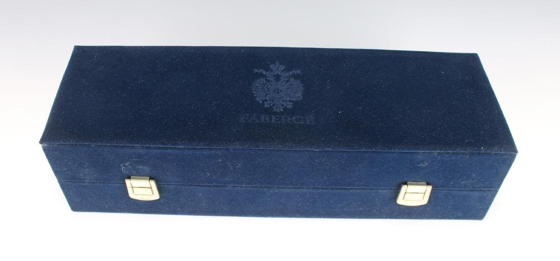 FABERGE VODKA GLASSES WITH CASE NIB - 5