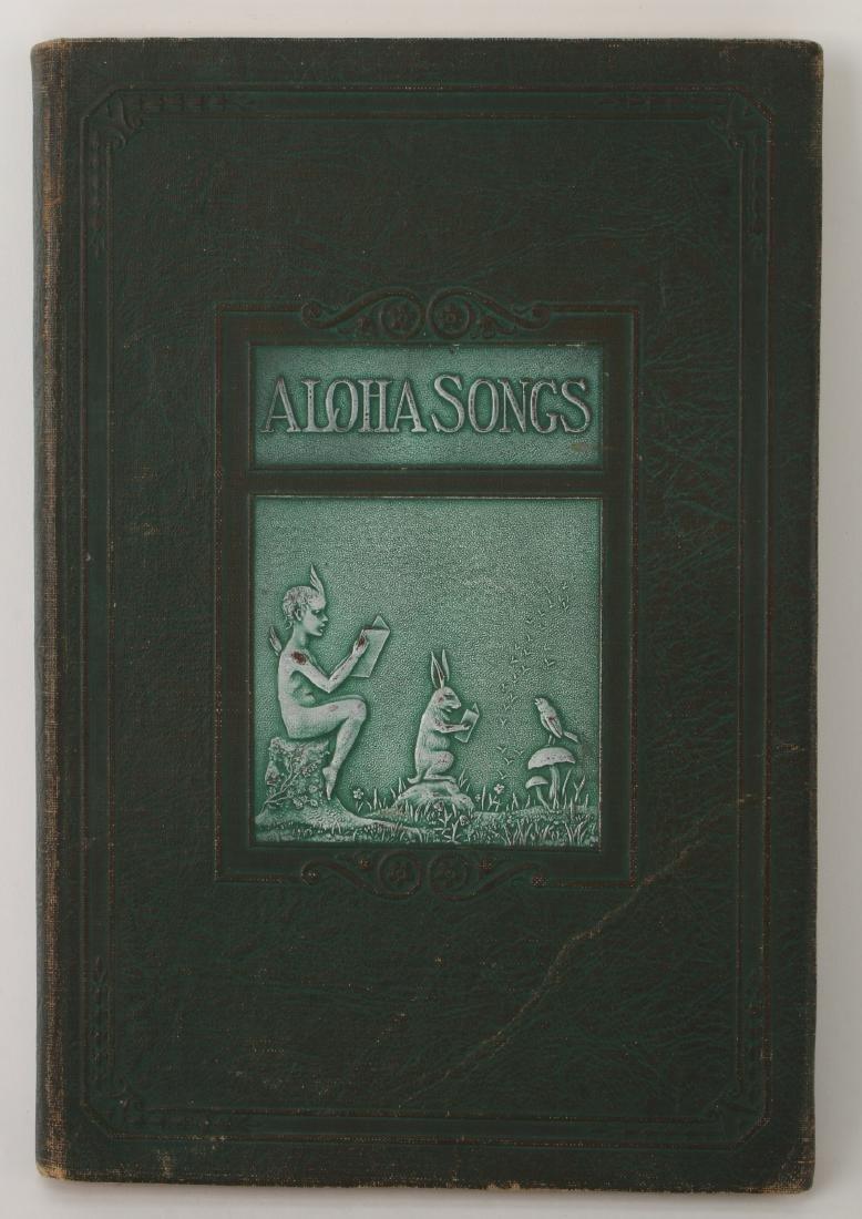 ALOHA HIVE SONG BOOK