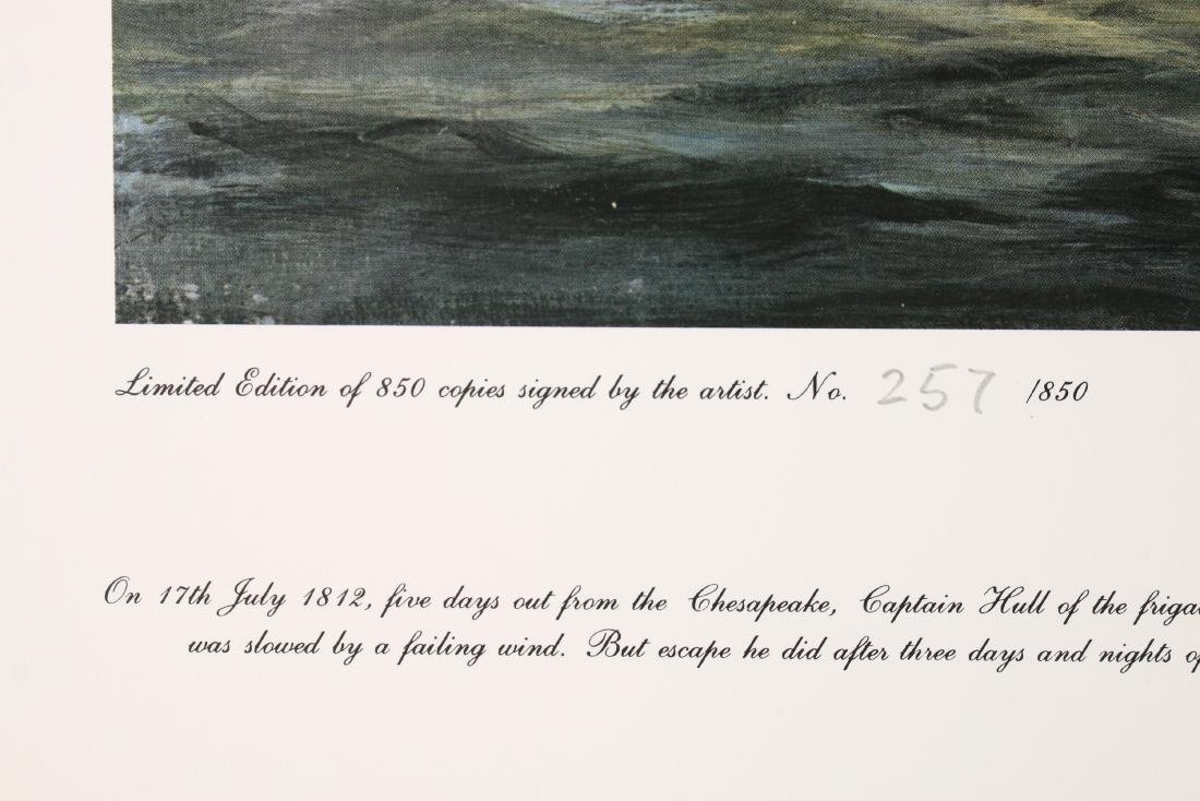 14 RICHARD WILLIS SIGNED NUMBERED SHIP PRINTS - 7