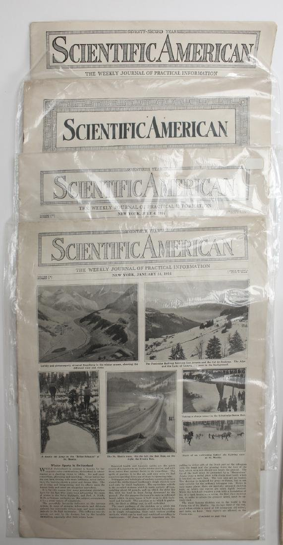 SCIENTIFIC AMERICAN 1914,16, V-E DAY CHICAGO