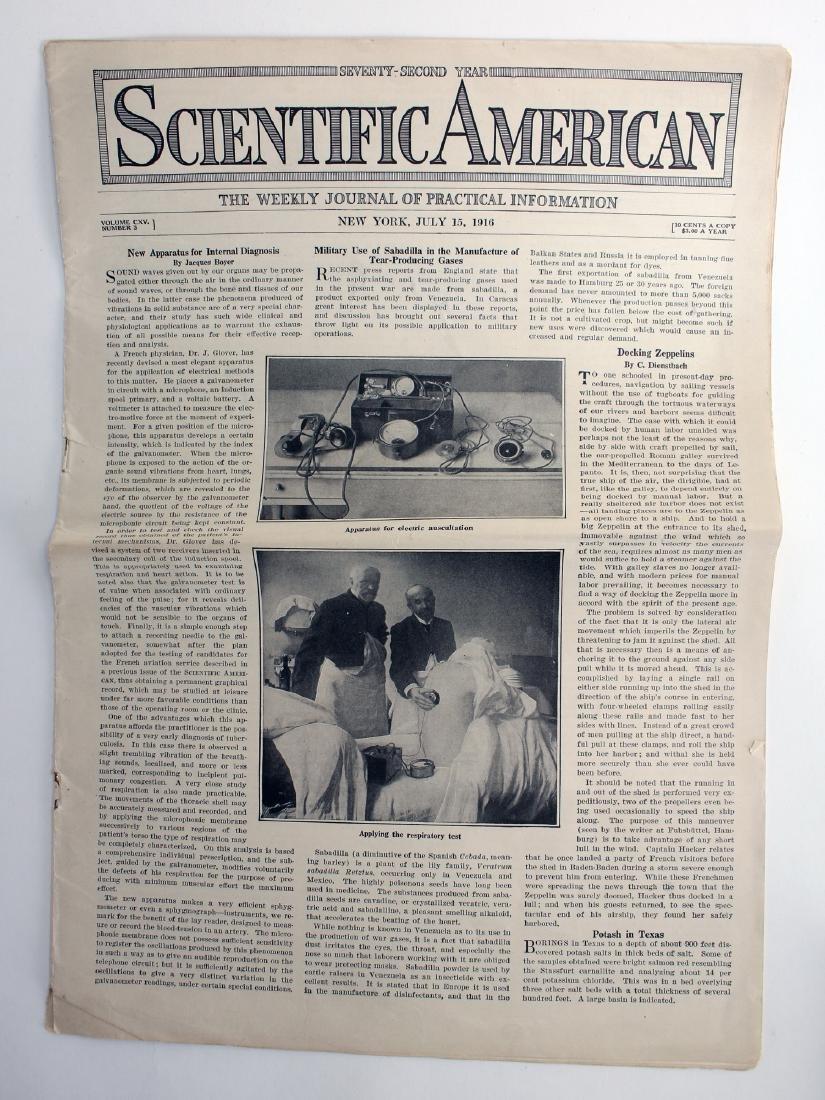 SCIENTIFIC AMERICAN 1914,16, V-E DAY CHICAGO - 3