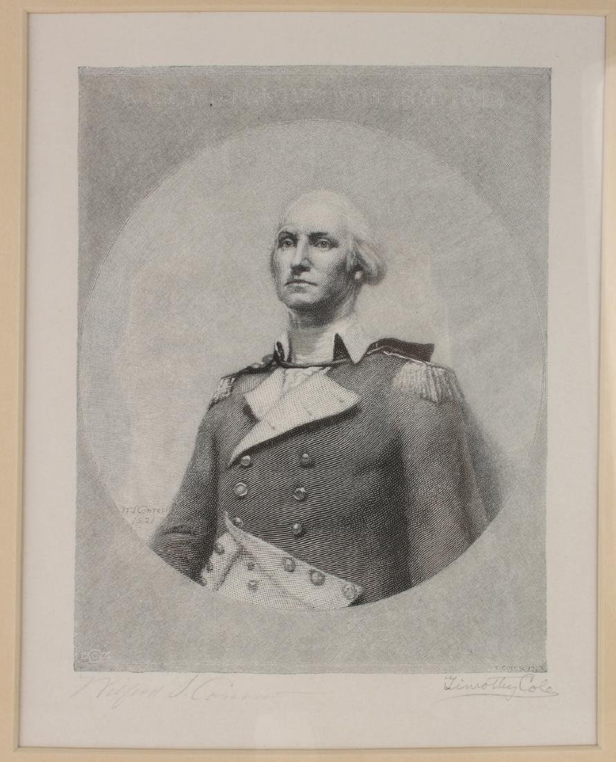 TIMOTHY COLE GEORGE WASHINGTON PRINT