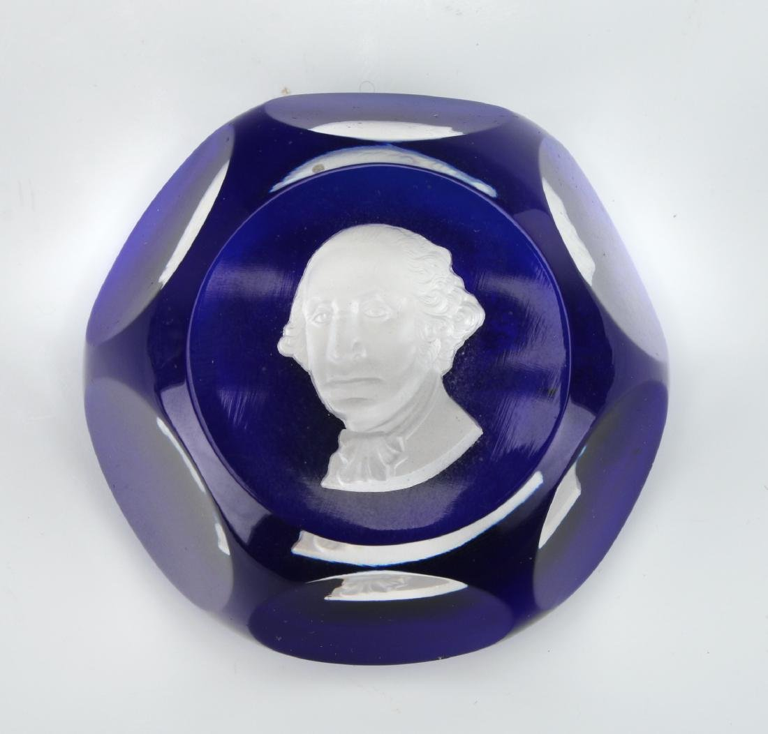 BACCARAT GEORGE WASHINGTON PAPERWEIGHT