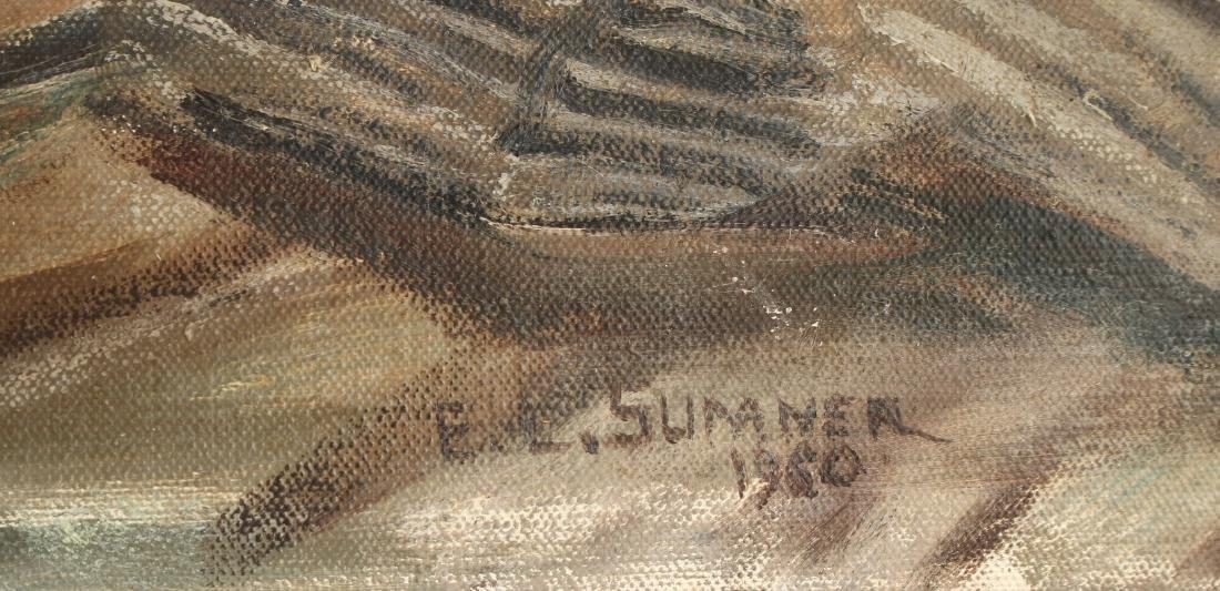 SEASCAPE BY E.L. SUMNER 1960 - 2