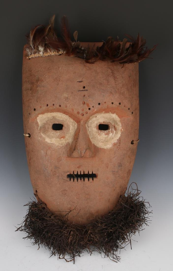 AFRICAN MASK WITH BEARD CONGO