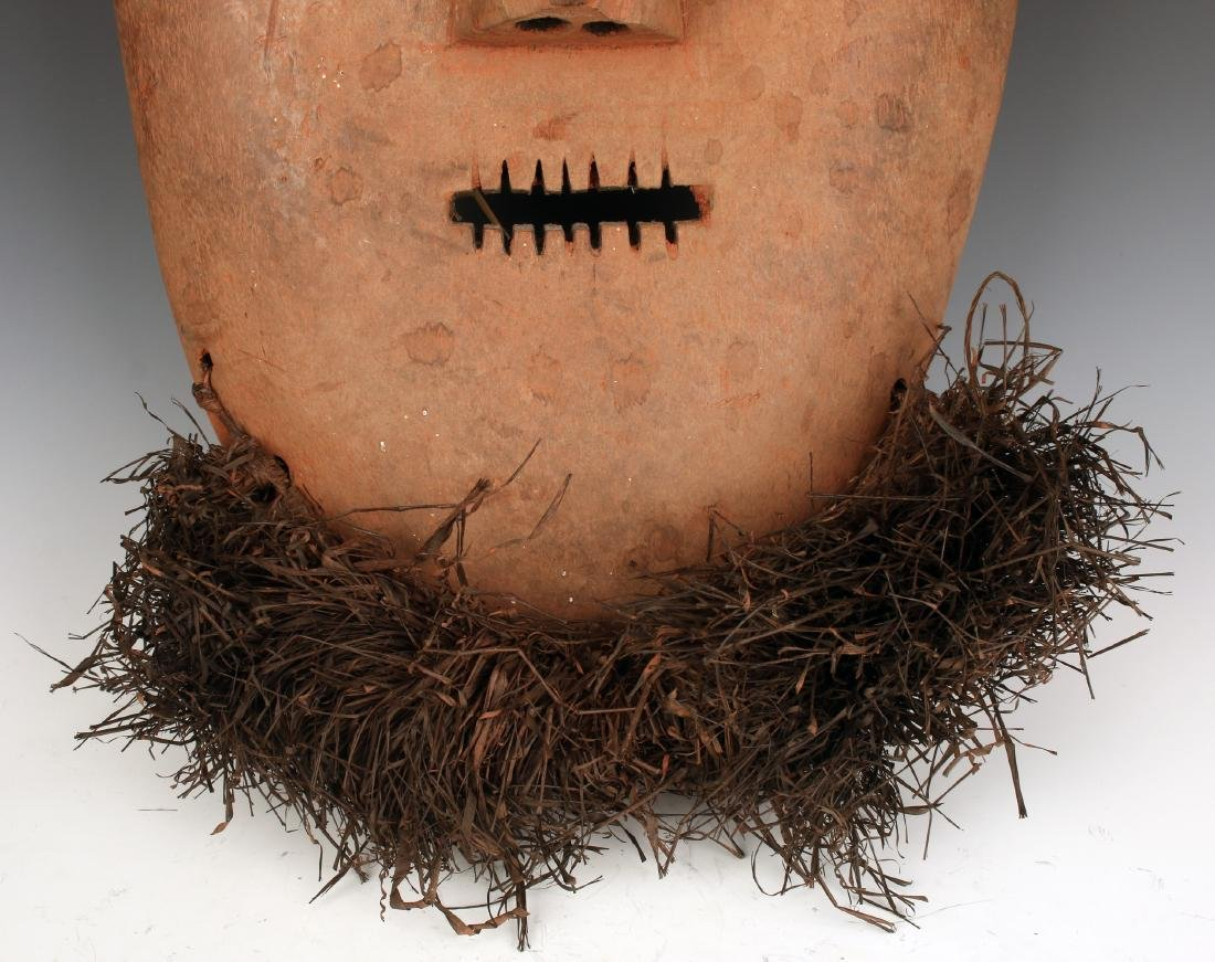 AFRICAN MASK WITH BEARD CONGO - 4