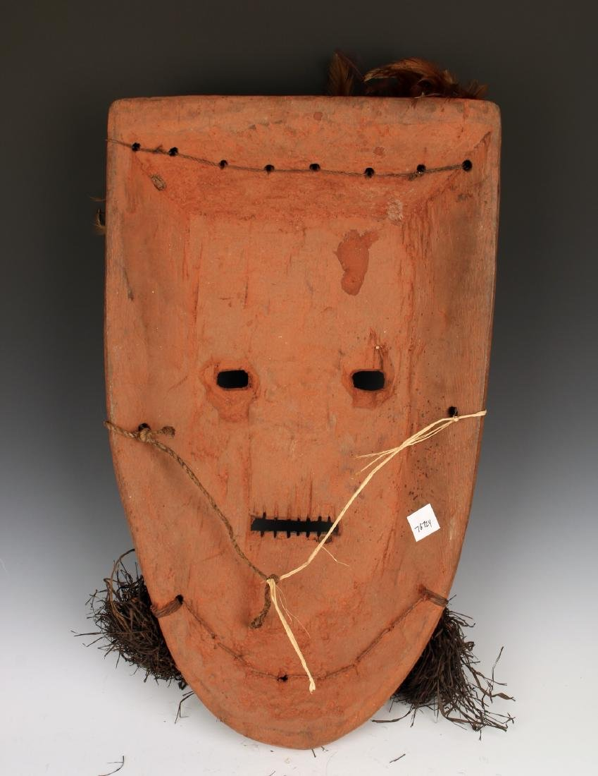 AFRICAN MASK WITH BEARD CONGO - 5