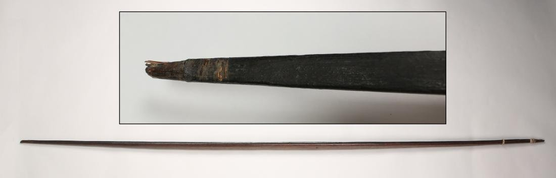 AFRICAN WOODEN BOW - 10