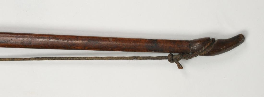 AFRICAN WOODEN BOW - 2
