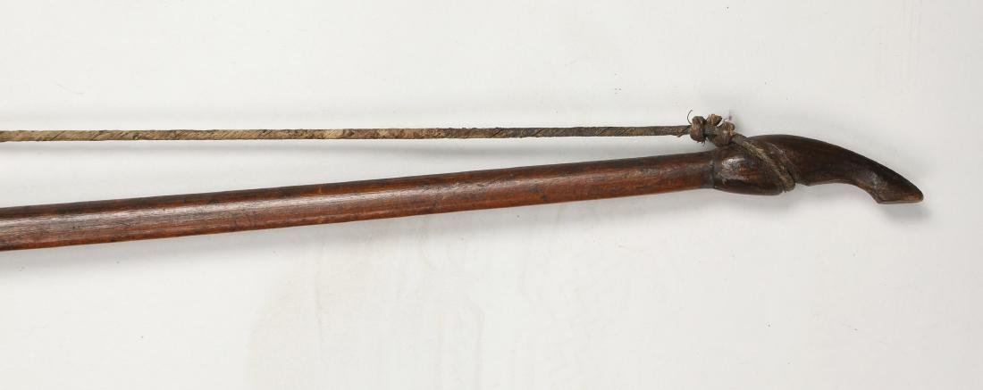 AFRICAN WOODEN BOW - 3