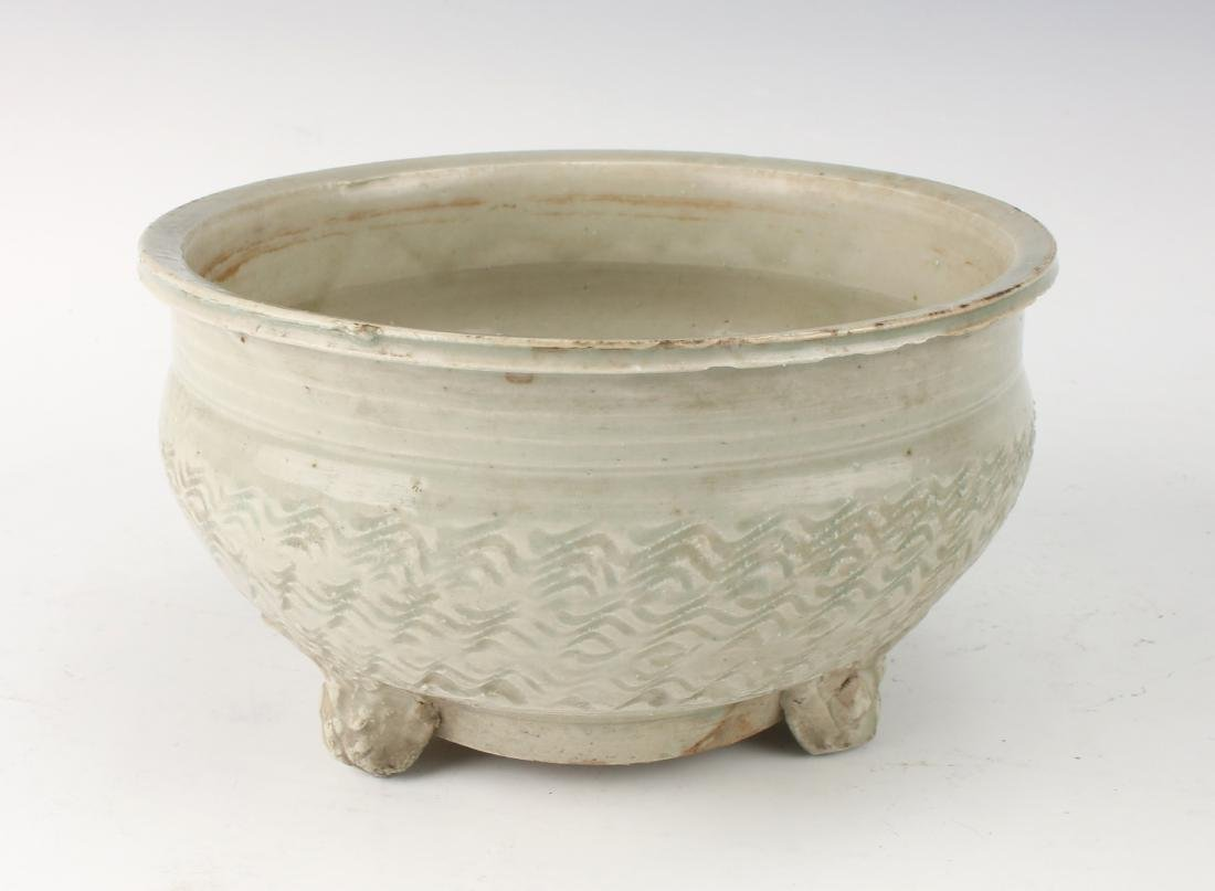 PALE CELADON CERAMIC CENSER