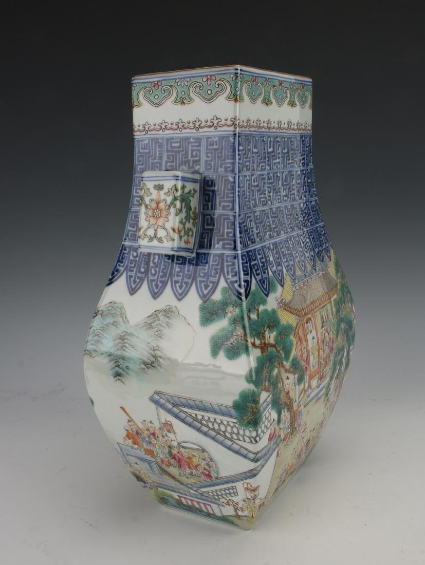VERY FINE QIANLONG 100 CHILDREN FAMILLE ROSE VASE - 6