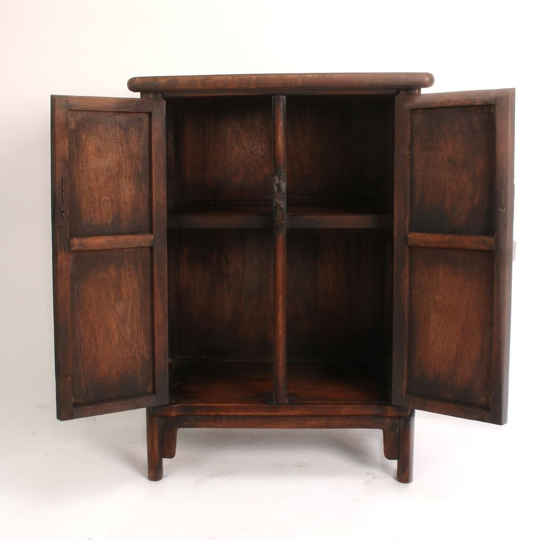 PAIR OF SHORT HUANGHUALI CABINETS - 4