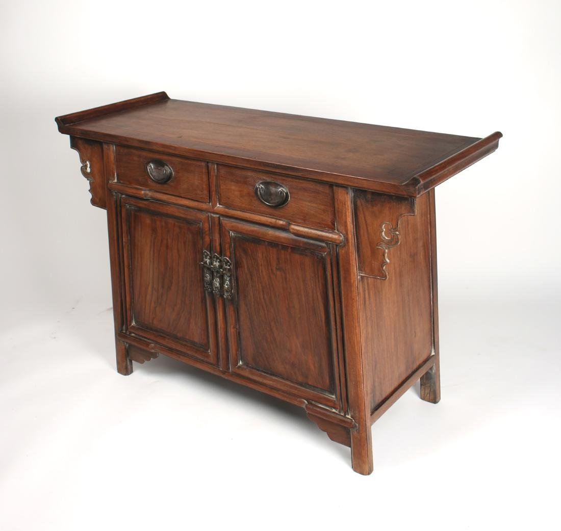 HUANGHUALI ALTAR TABLE WITH DRAWERS & CABINETS