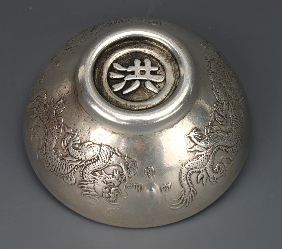 CHINESE SILVER BOWL - 6