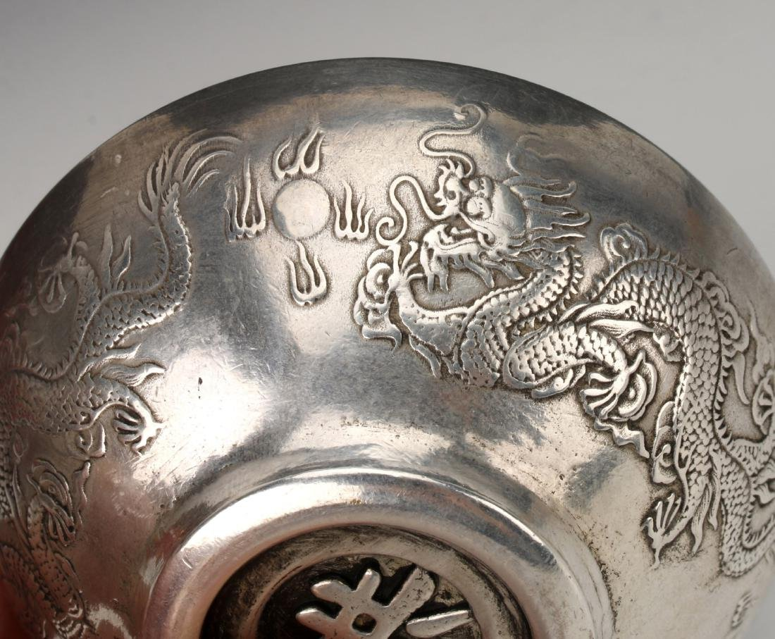 CHINESE SILVER BOWL - 7