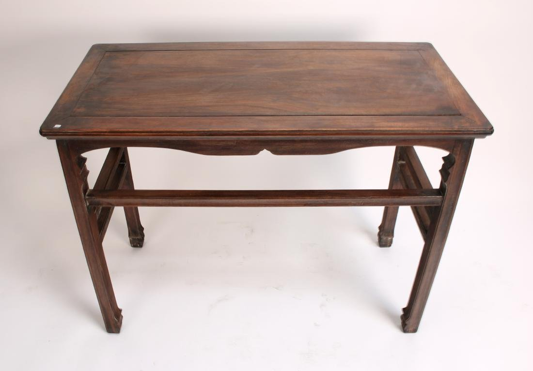 SMALL HUANGHUALI PAINTING TABLE - 2