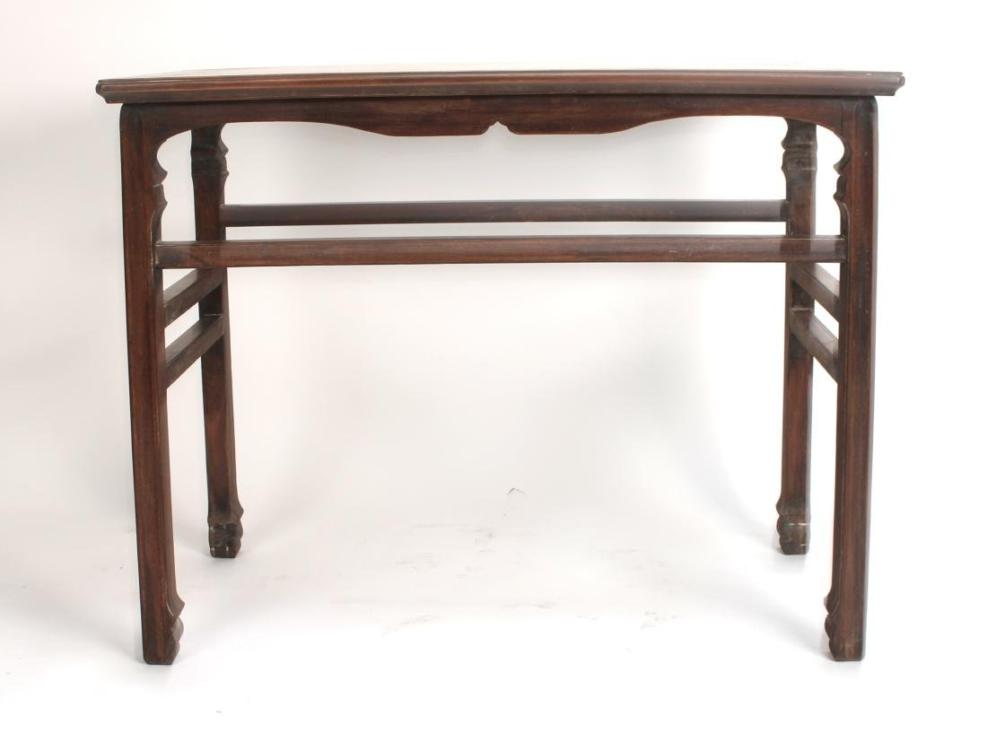 SMALL HUANGHUALI PAINTING TABLE - 3