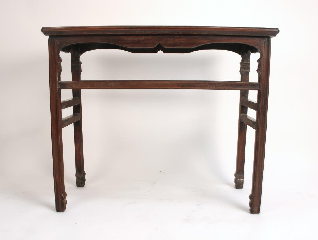 SMALL HUANGHUALI PAINTING TABLE - 6
