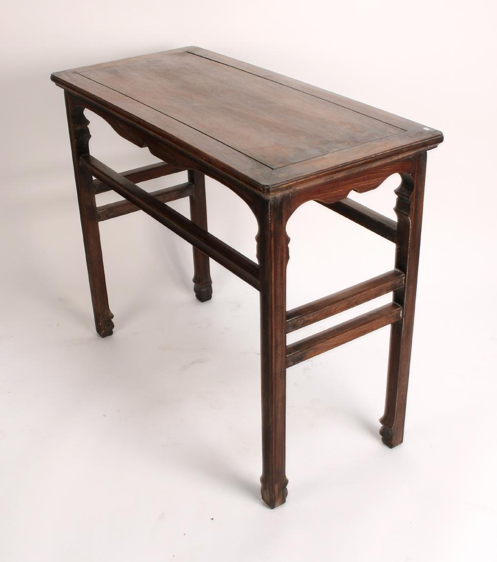 SMALL HUANGHUALI PAINTING TABLE - 9