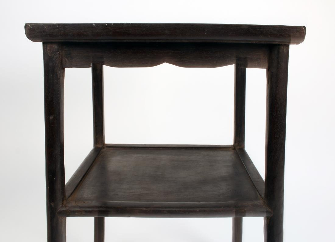 PAIR OF ZITAN END TABLES - 3