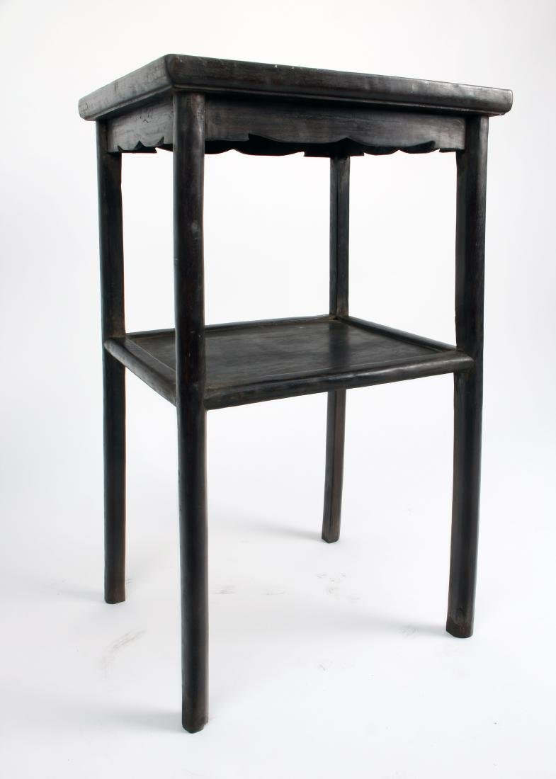 PAIR OF ZITAN END TABLES - 4