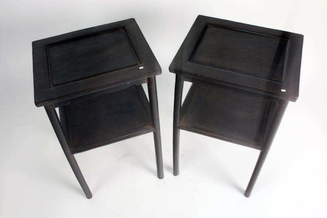 PAIR OF ZITAN END TABLES - 5