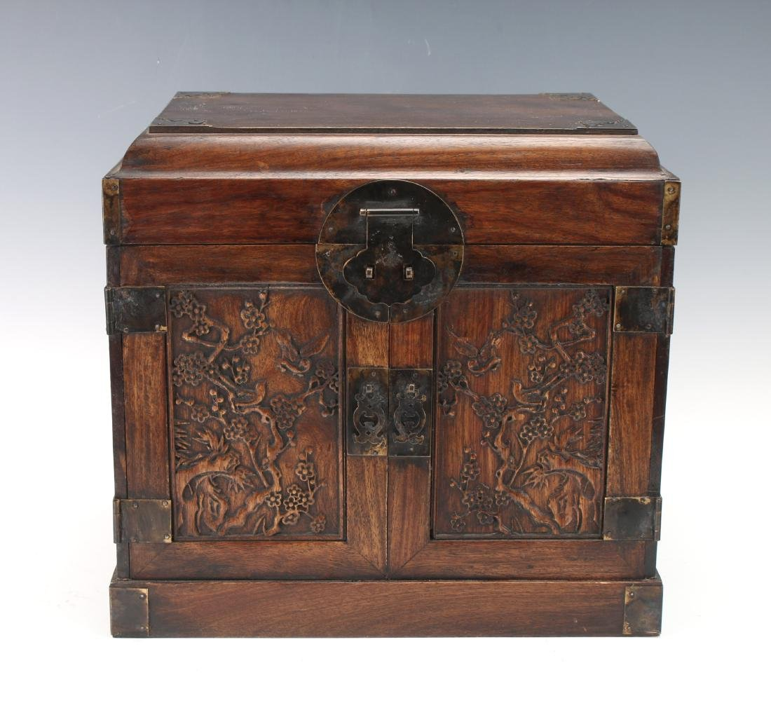 HUANGHUALI JEWELRY CHEST - 2